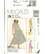 McCall's 8737 Woman's Day Collection Petite-able 3 Hour Separates 14,16,... - $9.47
