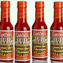 4 X Jamaican Crushed Pepper Sauce 142 ml/ 5 fl oz Bottle (Eatons) - $24.99