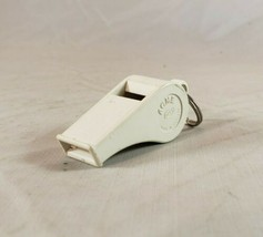 Vintage Classic White Acme 660 Molded Plastic Whistle Made in England Co... - $5.93