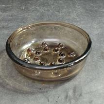 """Corning Fireside Brown Glass Plant Helper Flower Pot Base, PH-5-S, 4-1/2"""" Diam. - $14.40"""