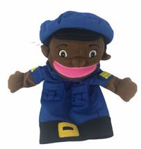 Lakeshore Learning Police Women Hand  Puppet Plush Preschool Pretend Play - $29.69