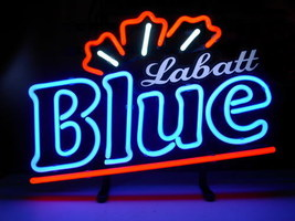 "New labatt blue Neon Light Sign 17""x14"" - $95.00"