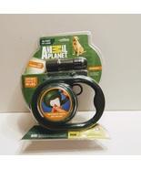 ANIMAL PLANET GREEN RETRACTABLE DOG 16 FT LEASH+LED FLASHLIGHT - $25.00