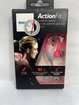 Philips ActionFit Sports Earhook Headphones SHQ3200PK/28 PINK & GREY -SE... - $12.34