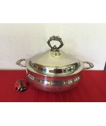 English Silver Plate Covered Casserole Dish MFG Corp By Leonard Silver USA - $50.00