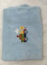 Circo Baby Boy Blue Dump Truck Slow Plush Soft Blanket Target B284 - $384,16 MXN