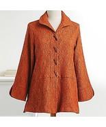 Smithsonian Kyoto Vine Jacket Deep Orange Copper (small) - $69.29