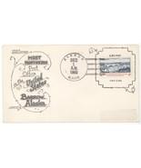 1960 Barrow Alaska Most Northern US Post Office w/ #1164 & A B Covers Ca... - $9.49