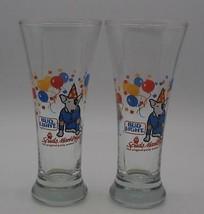 Vintage Bud Light 1988 Spuds Mackenzie Glass Original Party Animal  Budw... - $18.80