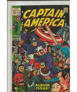 Captain America #112 ORIGINAL Vintage 1969 Marvel Comics Origin Retold - $65.33