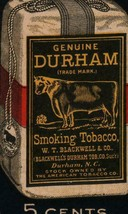 Vintage Genuine Bull Durham rolling papers New Size 5 cents - $10.99