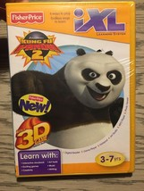 Fisher Price iXL Learning System Kung Fu Panda 2 + 3D Glasses  NEW - $9.99