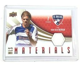 2010 Upper Deck Soccer MLS Materials Game Used Van Den Bergh FC Dallas M-DU - $8.92