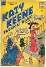 Katy Keene Fashion Book #13 1956-Bill Woggon-fashions-pin-ups-paper doll... - $63.05