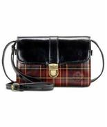 Patricia Nash Women's Leather Bianco Convertible Crossbody Bag Gold Foil... - $109.00