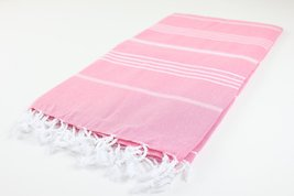 Turkish Towel Fouta Peshtemal Striped Beach Bath Spa Yoga Hammam Gym Pool Towel  - $18.80