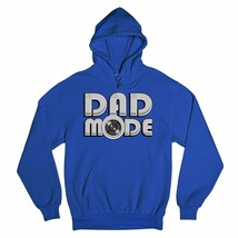 Dad Mode Power Button Sweatshirt Father's Day Dadlife Best Dad Ever Hoodie - $27.07+