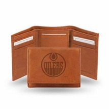 Edmonton Oilers Embossed Leather Trifold Wallet - $19.80