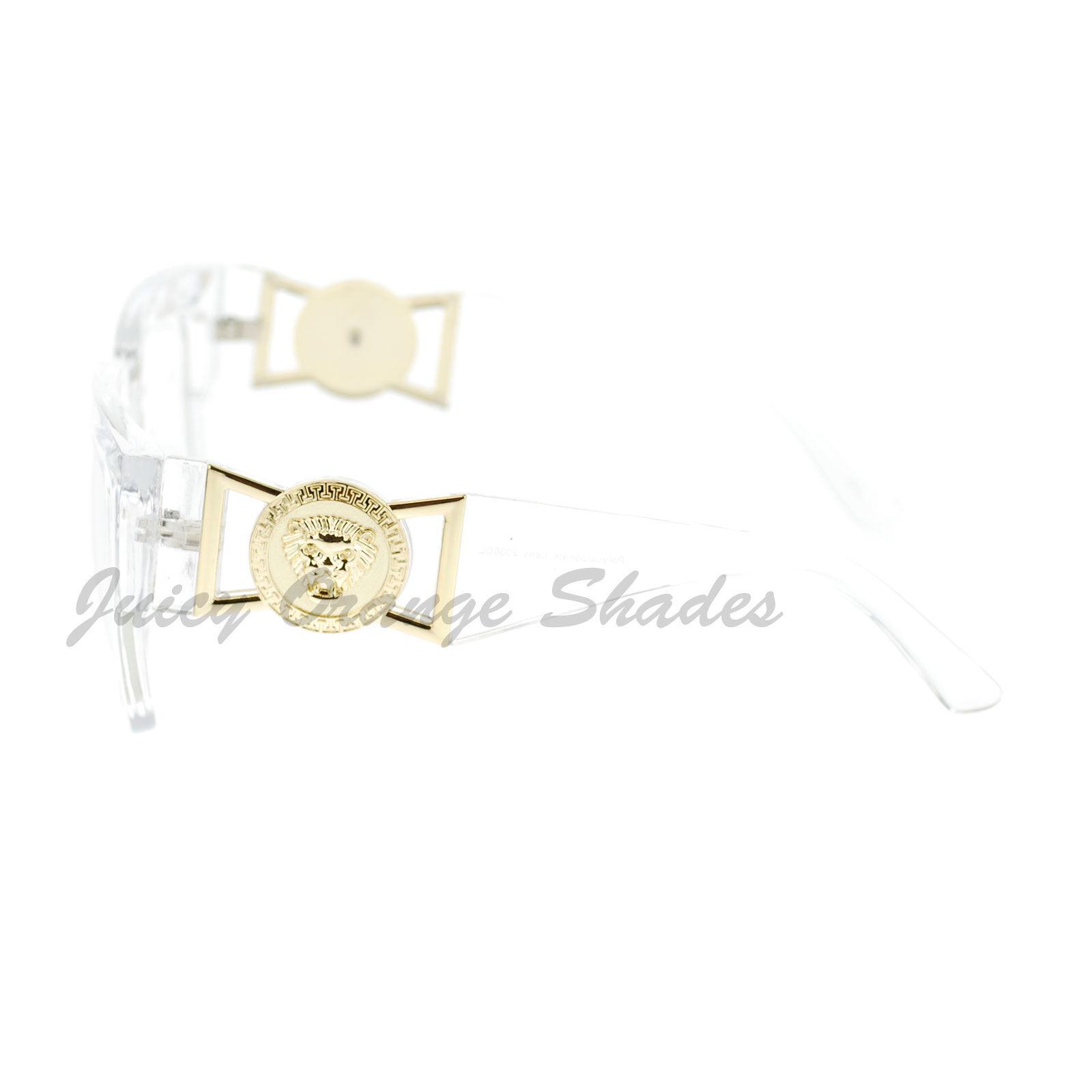 Oversize Thick Square Clear Lens Glasses Hip Designer Fashion