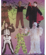 McCalls 2860 Goosebumps Scary Monsters Childs Boys 6 to 8 Costume Sewing... - $9.95