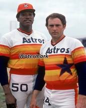MLB 1980's Houston Astros J.R. Richard Nolan Ryan Color 8 X 10 Photo Pic... - $5.99