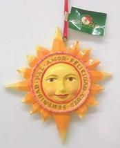 Hispanic Christmas Ornament (Peace Love) - $14.85