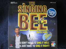 The Singing Bee Board Game With Cd Ages 10+ 2 Or More Players MS-94 - $9.99