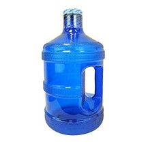 1 Gallon BPA FREE Reusable Plastic Drinking Water Big Mouth Bottle Jug Container