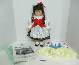 Engel Puppe Puppen Epcot Disney German doll Snow White dress costume out... - $98.99
