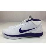 NIKE 942521-118 White/Purple Rare Unreleased Basketball Shoes Men's US S... - $93.49
