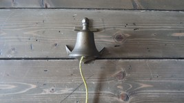 Vintage Brass Nautical Anchor Dinner Ships Bell 4.75 x 4 x 3.25 inches - $28.15