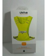 LIFE TRAK SPORT SAFETY VEST ONE SIZE FITS MOST 360 VISIBILITY STORAGE PO... - $9.75