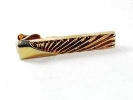 Vintage Goldtone Tie Clasp By SWANK 41116 - $14.99