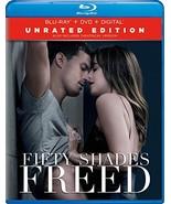 Fifty Shades Freed [Blu-ray+DVD+Digital, 2018] - $11.95