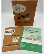 American Petroleum Institute API Handbook Lot3 How To Sell Motor Oil Gas... - $10.40