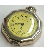 Waltham Mass. Collectable 1907 Pocket Watch 7 Jewels Gold Filled Decagon... - $123.50