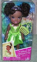 "Disney Princess Petite Tiana 6"" Doll & Comb New - $14.88"