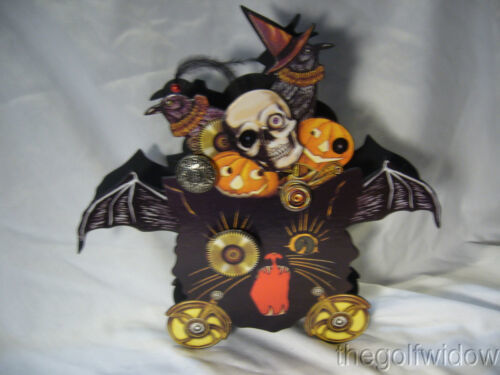 Bethany Lowe Steampunk Halloween Container Skulls & Pumpkins no. LO5578