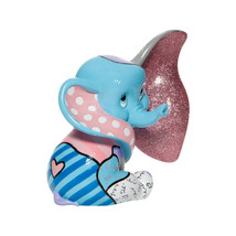 "6"" High Disney Britto Baby Dumbo Figurine Multicolor Hand Painted image 2"