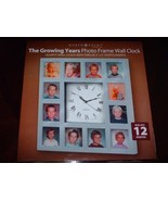 The Growing Years Photo Frame Wall Clock - $24.43