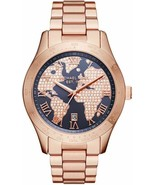 Michael Kors MK6395 Layton Rose Gold World Special Edition Women's Watch - £93.97 GBP