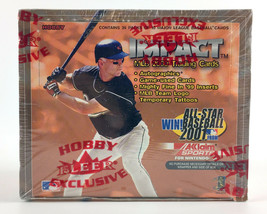 2000 Fleer Impact Baseball Hobby Box - 36 Packs - 10 Cards Per Pack - $49.49