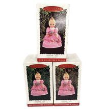 Hallmark Keepsake Ornament CINDERELLA 1995 Madame Alexander 1996 LOT OF 3 - $8.99