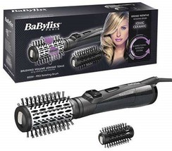 BaByliss AS551E Brush Rotary Of Air Ionic 800W Ceramic 1 31/32in Brush 1 3/8in - $177.75