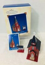 2004 Town and Country #6 Church Hallmark Christmas Tree Ornament Box Pri... - $18.32