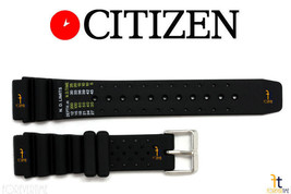 Citizen ND Limits NY0045-05E 20mm Black Rubber Watch Band NY0040-33L NY0046-02L - $44.95