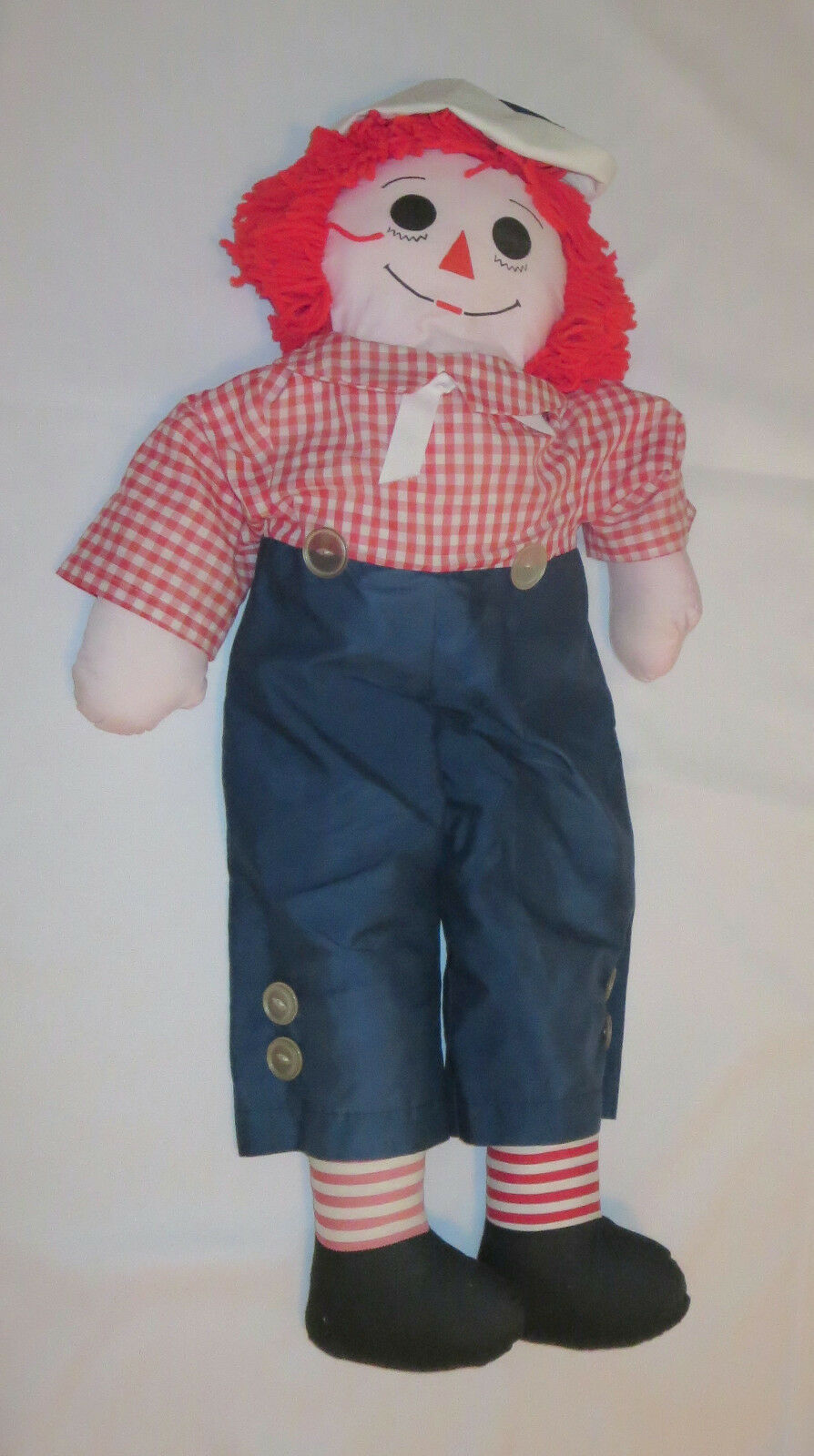 "Primary image for Raggedy Andy Doll Large 35"" Tall Rag"