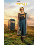 """BBC DOCTOR WHO TV SHOW JODIE WHITAKER AS TIMELADY POSTER 24"""" X 36"""" - $11.59"""