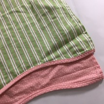 Waverly Classics for Kids Pink Polka Dot Green Stripe Valances Set of 2 ... - $24.75
