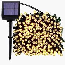 JAR-OWL Solar String Lights Outdoor Waterproof 72FT (200 LED 72FT Warm W... - $26.49
